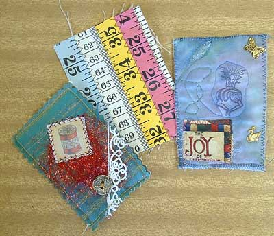 ATCs from Ann-Maree, Cherie and Yvonne