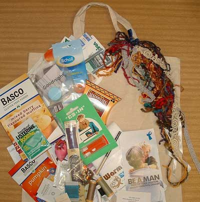 retreat goody bag