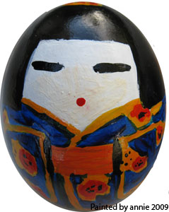 My 2009 painted egg