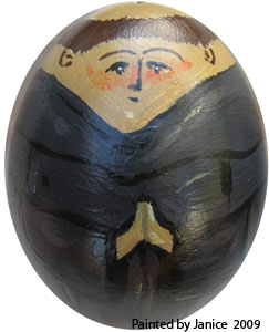 Janice 2009 painted egg