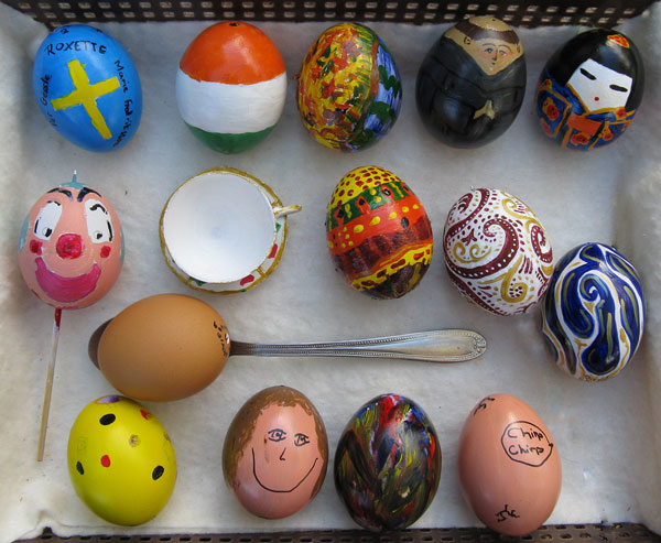 2009 Painted Easter Eggs