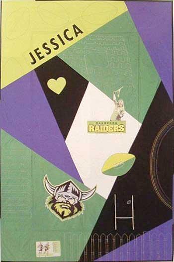 Jessie Loves the Raiders