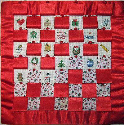 Nativity Calendar showing change of pattern