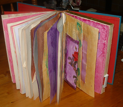 Altered Book in progress