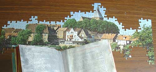 Part of a Jig saw puzzle