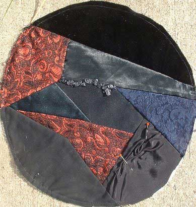 Another pieced beret