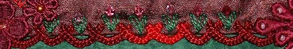 buttonhole over herringbone