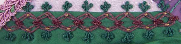 zig-zag chain stitch version 1