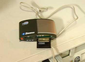 Camera Card Reader
