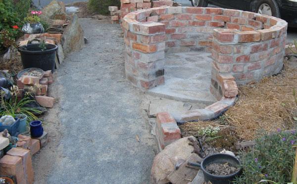 Castle update 7 rows of bricks