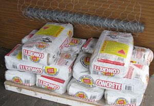 concrete for castle floor