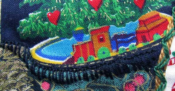 Applique and Buttonhole Stitch