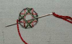 shi-sha 09 blanket stitch