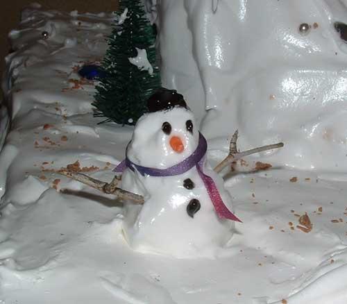 icing snowman