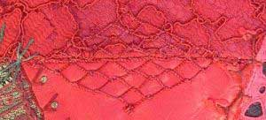 Fly stitch net