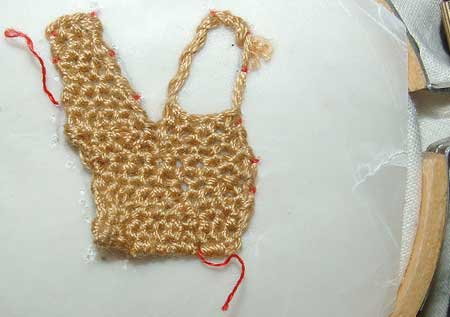 Needlelace Sample