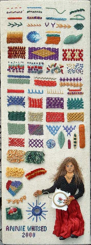The Stumpwork Sampler