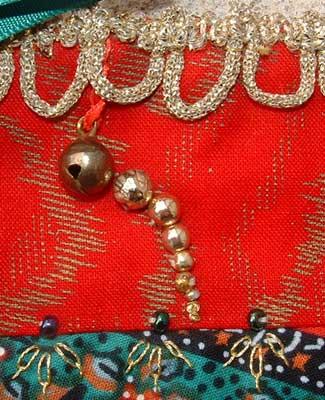 reducing sizes of beads