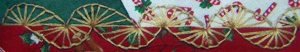 Buttonhole wheels