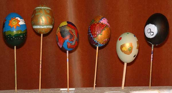 Painted Eggs 1999