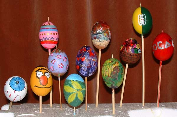 Painted Eggs 2003
