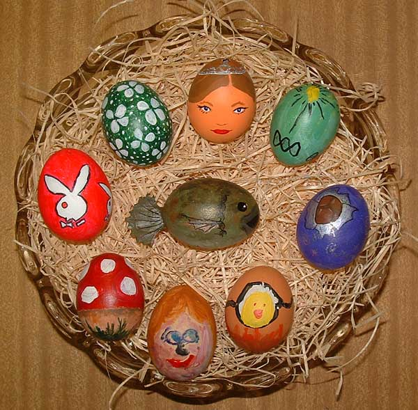 Painted Eggs 2004