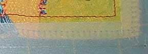 stitching to unpick