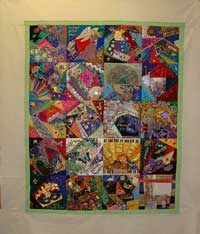 quilt with the first border