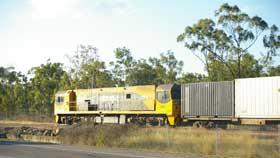 Sugar cane train