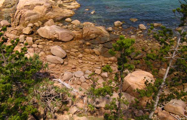 Rocky Shoreline on Magnetic Island