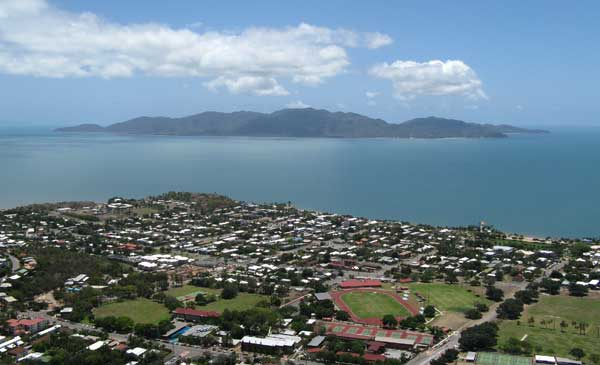 Magnetic Island viewed from Castle Hill
