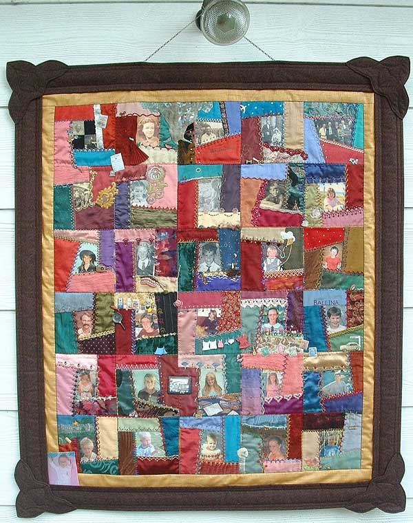 Under the Mango Tree - memory quilt