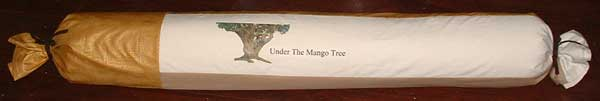 Quilt roll for Under the Mango Tree