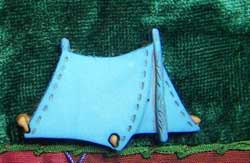 Tent Button