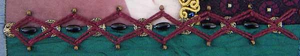zig-zag chain stitch version 3