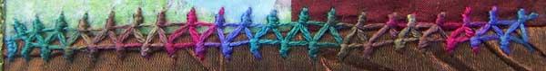 Italian insertion stitch