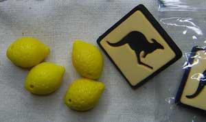 lemon beads