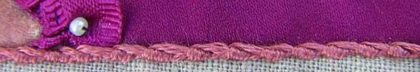 Portuguese Stem Stitch
