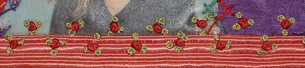 Colonial knots and French Knots