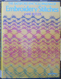 Cover of Batsfords encyclopedia of embroidery stitches