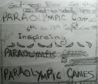 ideas for paralympic games