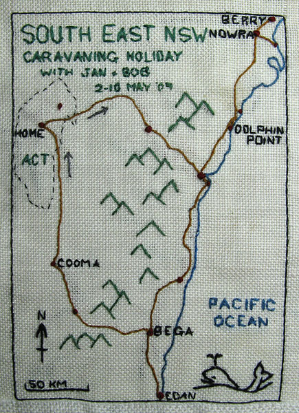 Stitched Map
