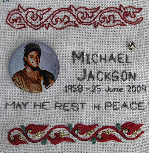 remembering Michael Jackson on My Sampler