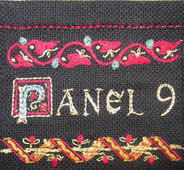 Sampler panel 9 details 981 982 1nd 983