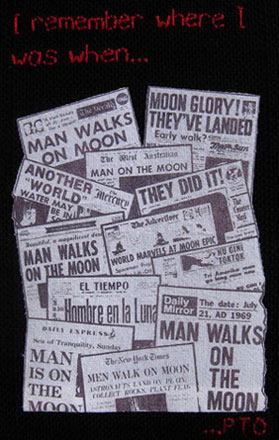 When Man Landed on the Moon...