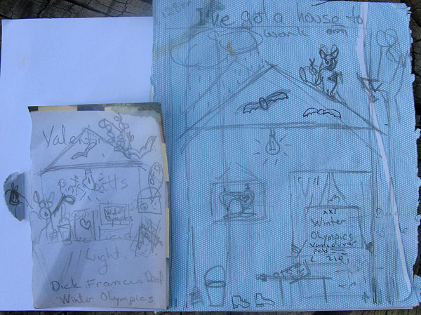 visual journal for febuary activities