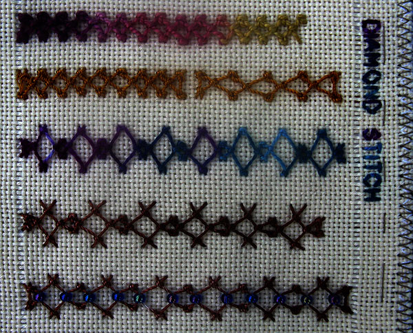 TAST2 Diamond Stitch