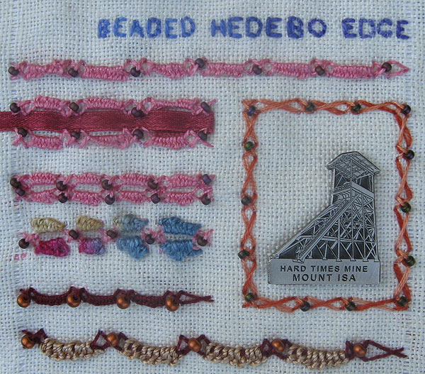 Beaded Hedebo Edge