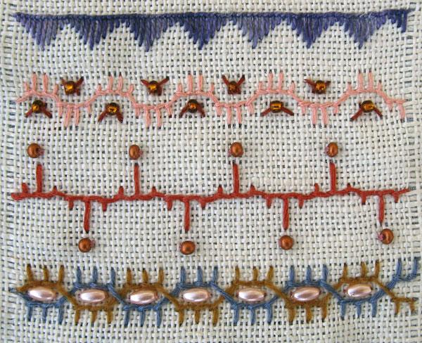 Buttonhole Stitch Variations