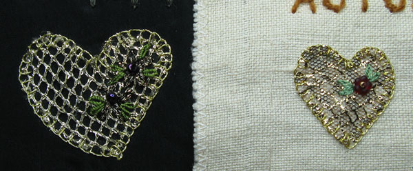 Buttonhole applique
